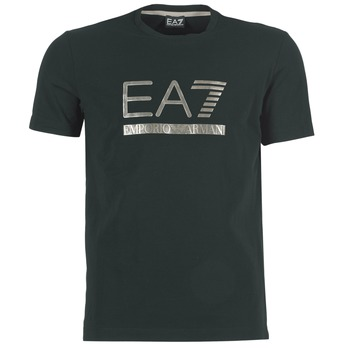 textil Hombre camisetas manga corta Emporio Armani EA7 MAGGAROL Negro