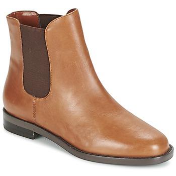 Zapatos Mujer Botas de caña baja Ralph Lauren BELVA COGNAC
