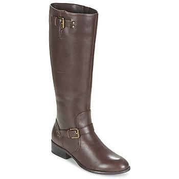 Zapatos Mujer Botas urbanas Ralph Lauren MARRONA Marrón