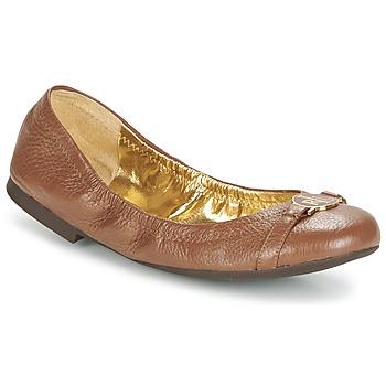 Zapatos Mujer Bailarinas-manoletinas Ralph Lauren BETHENNY Cognac
