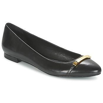 Zapatos Mujer Bailarinas-manoletinas Ralph Lauren FARREL-FLATS-CASUAL Negro