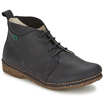 Zapatos Mujer Botas de caña baja El Naturalista ANGKOR Negro
