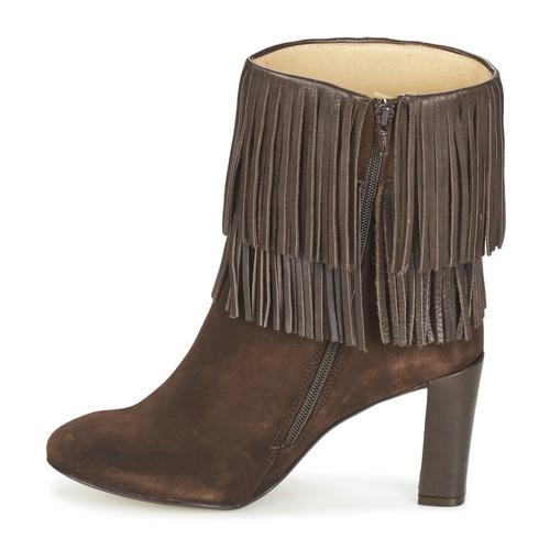 Mujer Betty Zapatos London Fajime Marrón Botines xoerdWCB