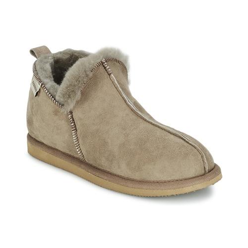 Liquidación de temporada Shepherd ANNIE Gris - Envío gratis Nueva promoción - Zapatos Pantuflas Mujer