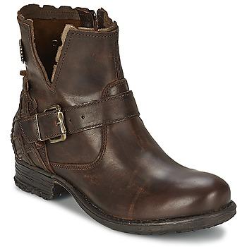 Zapatos Mujer Botas de caña baja Replay SOUP Marrón
