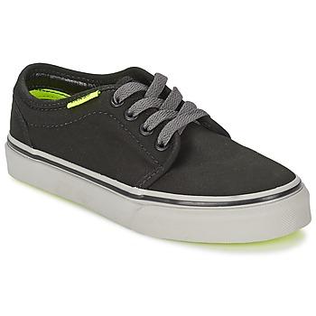 Zapatos Niños Zapatillas bajas Vans 106 VULCANIZED Negro / Gris / Amarillo