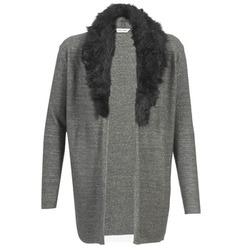 textil Mujer Chaquetas de punto Naf Naf NESTOR Antracita
