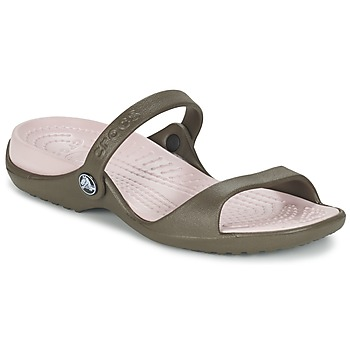 Zapatos Mujer Sandalias Crocs Cleo Chocolate / Algodón / Candy