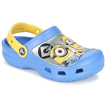 Zapatos Niños Zuecos (Clogs) Crocs CC Minions Clog Azul / Amarillo