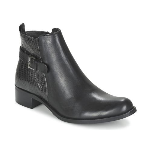 London Botas De Baja Fewis Negro Zapatos Betty Mujer Caña MUGzVqSp