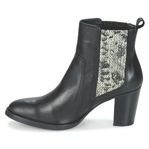 Botines NegroSerpiente Zapatos London Flara Betty Mujer 5AS4c3jqRL