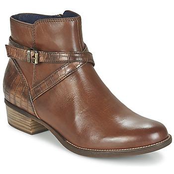 Zapatos Mujer Botas de caña baja Tamaris ISTRA Avellana