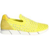 Zapatos Mujer Slip on Florens F1330 Amarillo