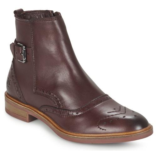 Zapatos Mujer Botas de caña baja Marc O'Polo NERETTA Burdeo