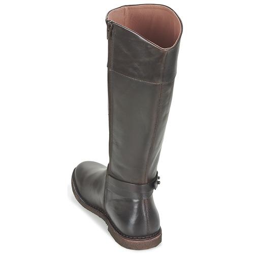Urbanas Zapatos Crick Mujer Kickers Botas Marrón SVUMqzp