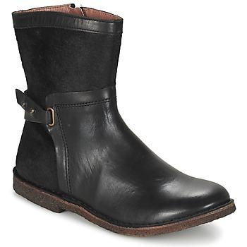 Zapatos Mujer Botas de caña baja Kickers CRICKET Negro