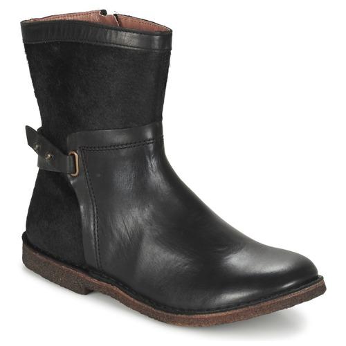Cómodo y bien parecido Zapatos especiales Kickers CRICKET Negro