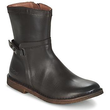 Zapatos Mujer Botas de caña baja Kickers CRICKET Marrón