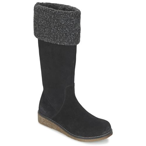 Zapatos Mujer Botas urbanas Kickers KARINE Negro