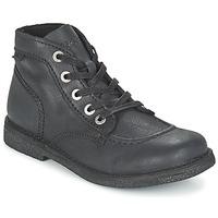 Zapatos Mujer Botas de caña baja Kickers LEGENDIKNEW Negro