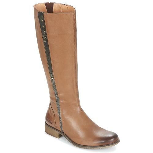Zapatos promocionales Kickers LONGBOTTE Marrón / Oro  Los zapatos más populares para hombres y mujeres