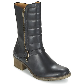 Zapatos Mujer Botas de caña baja Kickers MILLIER Negro