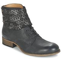 Zapatos Mujer Botas de caña baja Kickers PUNKYZIP Negro / Brillante