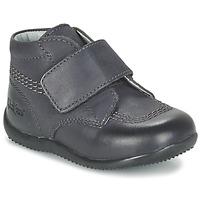 Zapatos Niños Botas de caña baja Kickers BILOU Negro