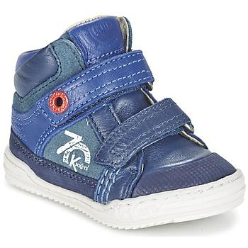 Zapatos Niño Zapatillas altas Kickers JINJINU Azul