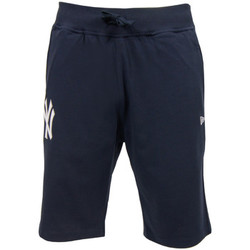 textil Hombre Shorts / Bermudas New Era MLB New York Yankees Jersey Short Azul