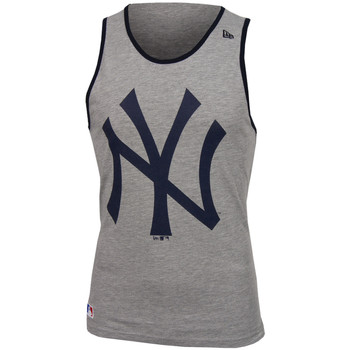 textil Hombre camisetas sin mangas New Era MLB New York Yankees og tank Gris