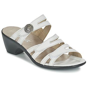 Zapatos Mujer Zuecos (Mules) Romika Gorda 01 Blanco
