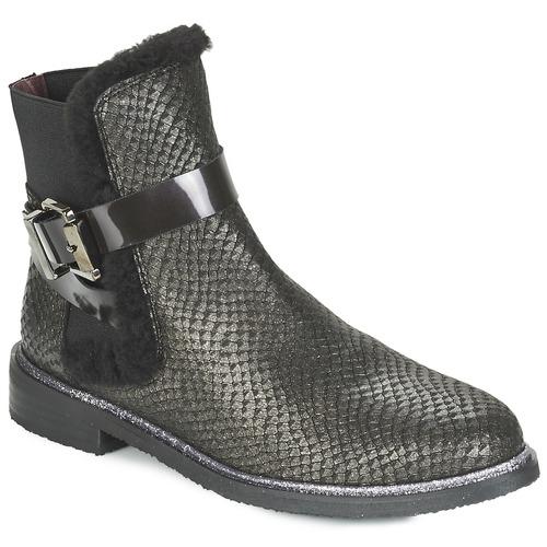 Zapatos Mujer Botas de caña baja Fericelli FADEN Negro