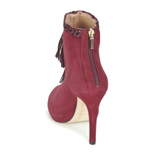 Fericelli Zapatos Botines Fadila Burdeo Mujer Ib6gyvYf7