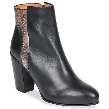 Zapatos Mujer Botines Emma Go BOWIE Negro / Metalico