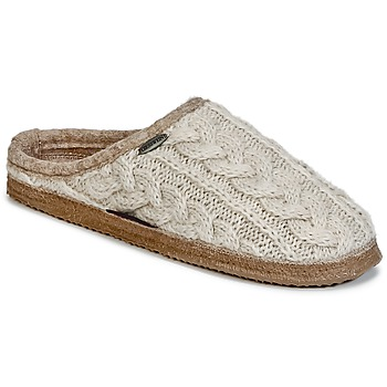 Zapatos Mujer Pantuflas Giesswein NEUDAU Beige