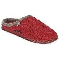 Zapatos Mujer Pantuflas Giesswein NEUDAU Rojo