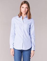 textil Mujer camisas Casual Attitude FANFAN Blanco / Azul