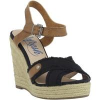Zapatos Mujer Alpargatas Refresh 6174 Negro