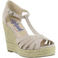 Zapatos Mujer Alpargatas Refresh 61805 Beige