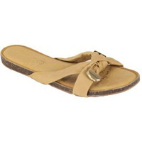 Zapatos Mujer Zuecos (Mules) Kebello D15 beige