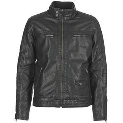 textil Hombre Chaquetas de cuero / Polipiel Petrol Industries VESTE JAC150 Negro