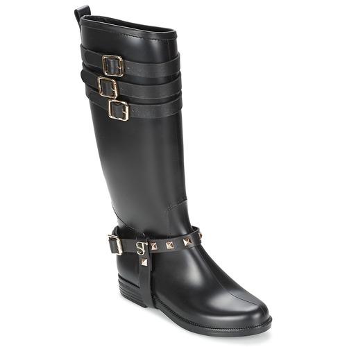 Negro Mujer Zapatos Supertrash Botas Urbanas Sammy wvmNy80nOP