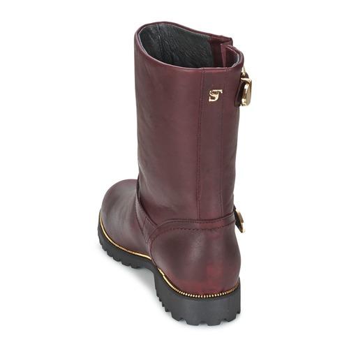 Caña Baja Botas Zapatos Supertrash De Marylin Burdeo Mujer UpGMqSzV