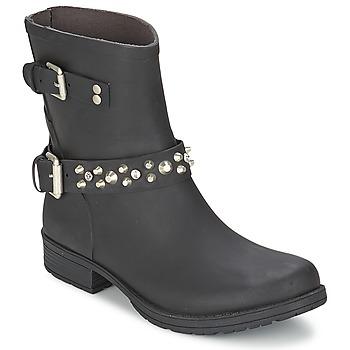 Zapatos Mujer Botas de caña baja Colors of California JAMBO Negro