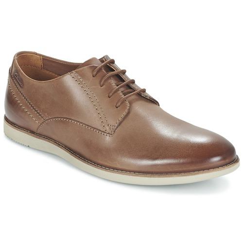 Zapatos Hombre Derbie Clarks FRANSON PLAIN Marrón