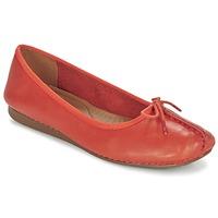 Zapatos Mujer Bailarinas-manoletinas Clarks Freckle Naranja