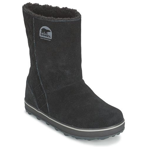 Zapatos casuales salvajes Zapatos especiales Sorel GLACY Negro