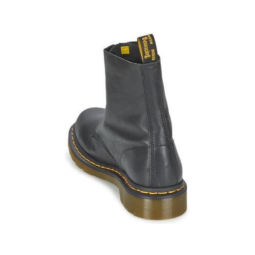 Botas De Dr Pascal Baja Martens Caña Mujer Negro Zapatos rdCxoeB