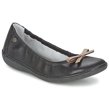 Zapatos Mujer Bailarinas-manoletinas TBS MACASH Negro / Topotea